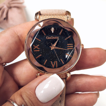 Women's Watches Luxury Gogoey Ladies Watch Women Starry Sky
