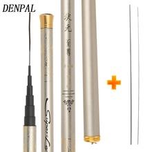 Super Light Hard Stream Fishing Rod 3.9/4.5/4.8/5.4/6.3M Carbon Fiber Hand Pole Easy Fish High High-quality