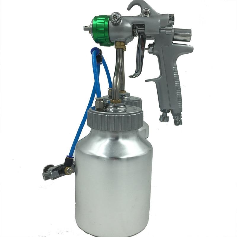 SAT1200 nagynyomású airbrush autófesték spray kettős fúvóka - Elektromos kéziszerszámok - Fénykép 3