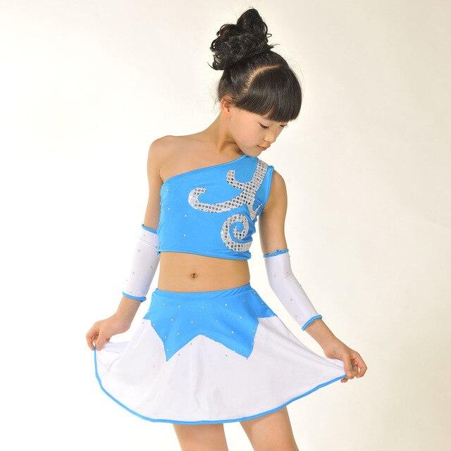 db4e2cb22 Escenario de gimnasia vestido de baile latino para las niñas moderno  rendimiento Latina Salsa baile de