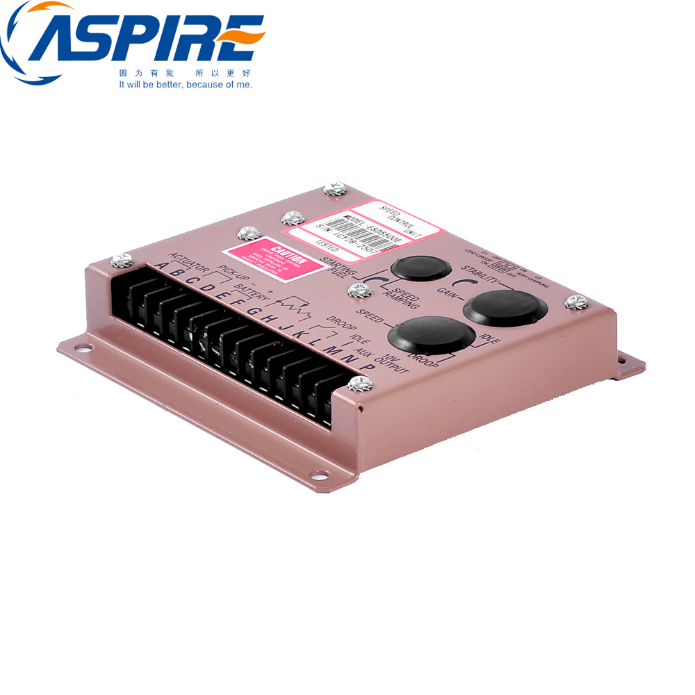 Aspire Speed Controller ESD5500, Generator Governor Speed Control Unit ESD5500EAspire Speed Controller ESD5500, Generator Governor Speed Control Unit ESD5500E