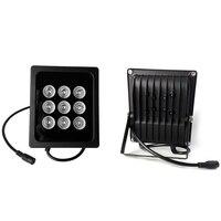 VERYSMART 9pcs Array LED Illuminator Night Vision IR Infrared Light for CCTV Security Cameras System Fill Light