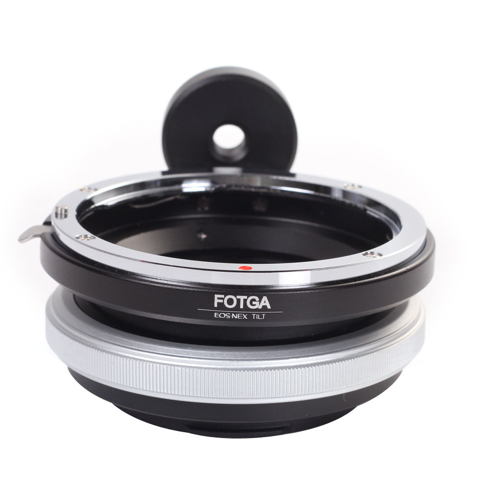 FOTGA Tilt Adapter Ring For Canon Lens to Sony Adapter for Nex-3 Nex-5 NEX-7 NEX-5C brass fotga adapter ring for contax yashica cy lens to sony e mount nex 3 nex 5 nex 7 5c 5n 5r cameras