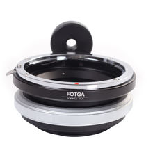 FOTGA Tilt Adapter Ring For Canon Lens to Sony Adapter for Nex-3 Nex-5 NEX-7 NEX-5C brass pixco cy nex tripod lens adapter suit for contax c y lens to sony nex a5000 a3000 nex 3 nex 5 nex 5t nex 3n nex 3c nex 5n camera