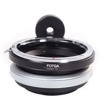 Fotga tilt adaptador anel para canon lente para sony adaptador para Nex 3 Nex 5 NEX 7 NEX 5C latão