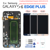 For Samsung S6 edge+ G928 G928F LCD Display Screen replacement for Samsung G9280 G928A G928V display screen Burn in Shadow