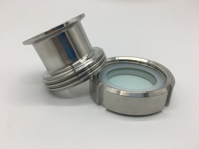 Free shipping Sanitary Tri Clamp Type Process View Sight Glass Fast loading 304 stainless steel