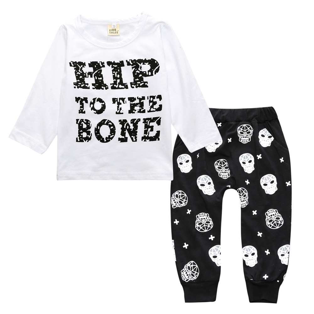 2PCS Baby Boy Clothing Sets Spring Baby Girl Clothes Cotton Newborn Baby Clothes Cute Children Clothing Roupas Bebe Kids Clothes