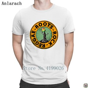 Image 3 - Roots Rock Reggae. t shirts Euro Size Pop Top Tee Basic Solid mens tshirt Designing High quality summer Anlarach New Style