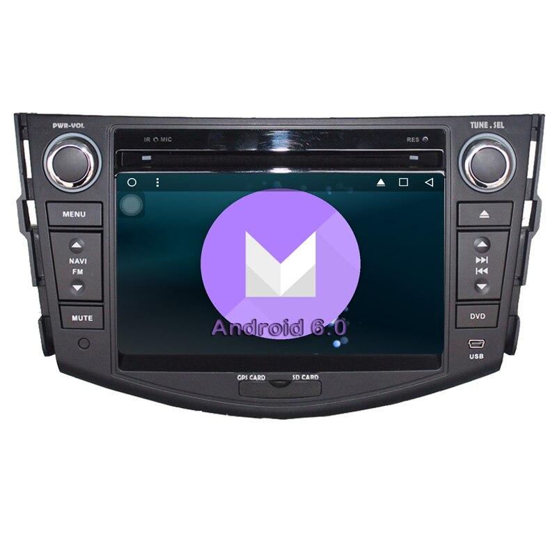 RAV4 DVD Audio Video Stereo font b GPS b font Quad Core Android 6 0 font