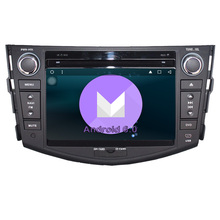RAV4 DVD Audio Video Stereo font b GPS b font Quad Core Android 6 0 font