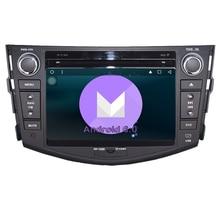 RAV4 DVD Аудио Видео Стерео GPS Quad Core Android 6.0 Автомобильный навигатор Радио RDS 3 г Wi-Fi 1024*600 HD Экран 2Din для Toyota RAV 4