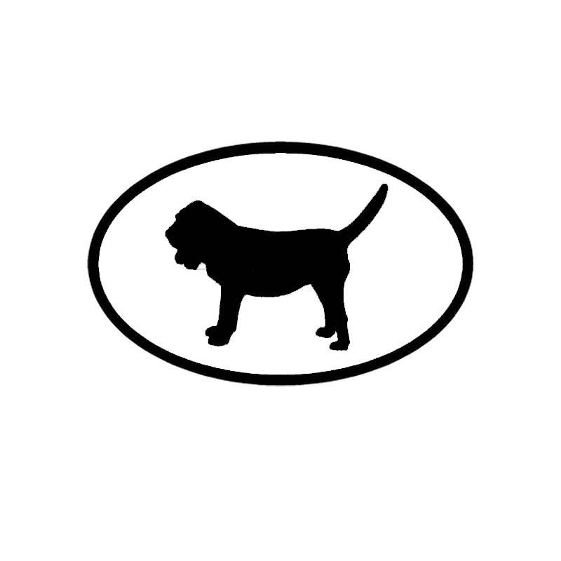 "Paw Black White Oval car window bumper sticker decal 5/"" x 3/"""