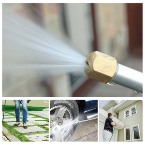 Image 5 - Araba yüksek basınçlı yıkama su tabancası güç Jet yıkama püskürtme bahçe memesi su hortum değnek eki DropShip otomobil temizleme tabancası aracı