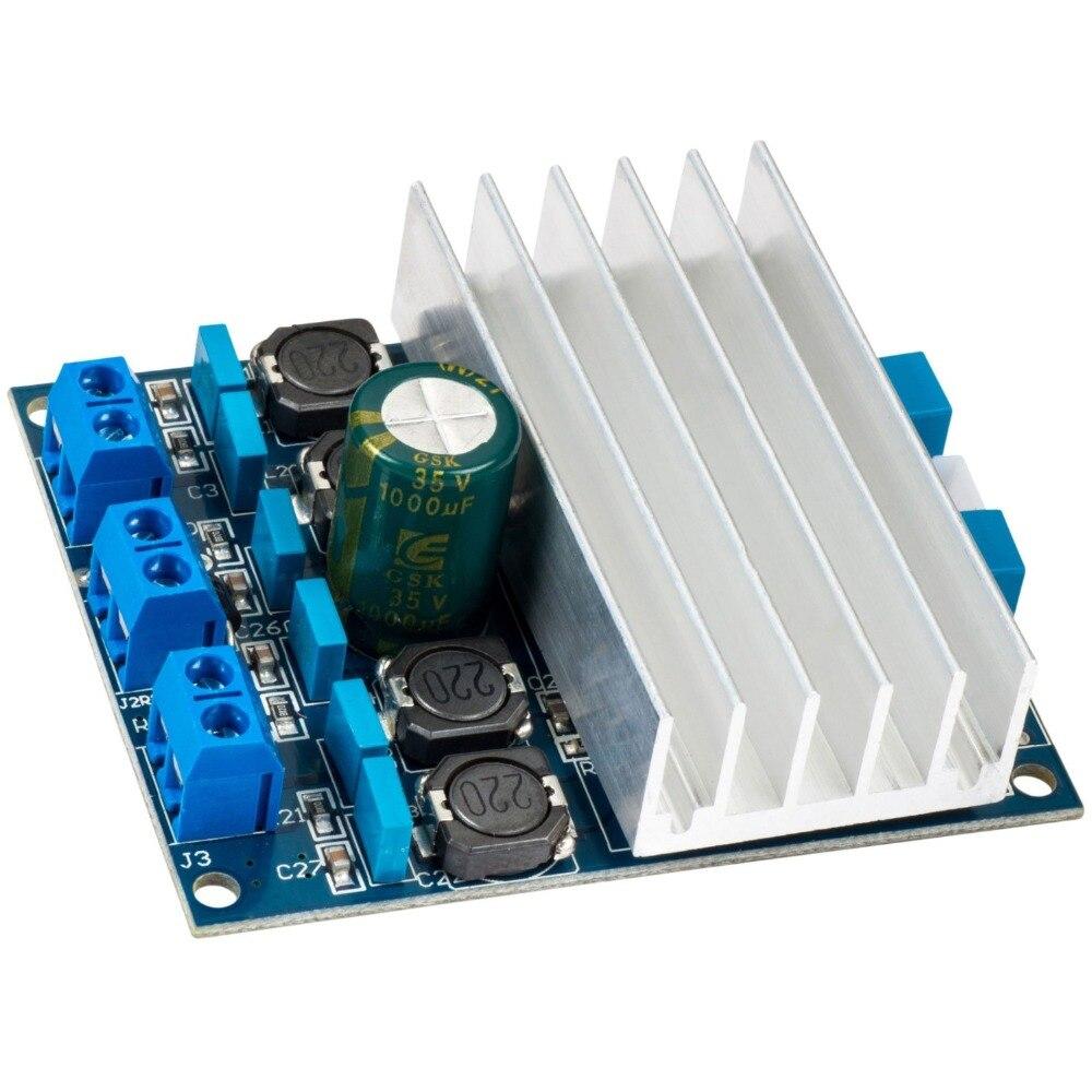 TDA7492 D Class High Power 2x50W AMP Board Digital Amplifier Board + Radiator AU