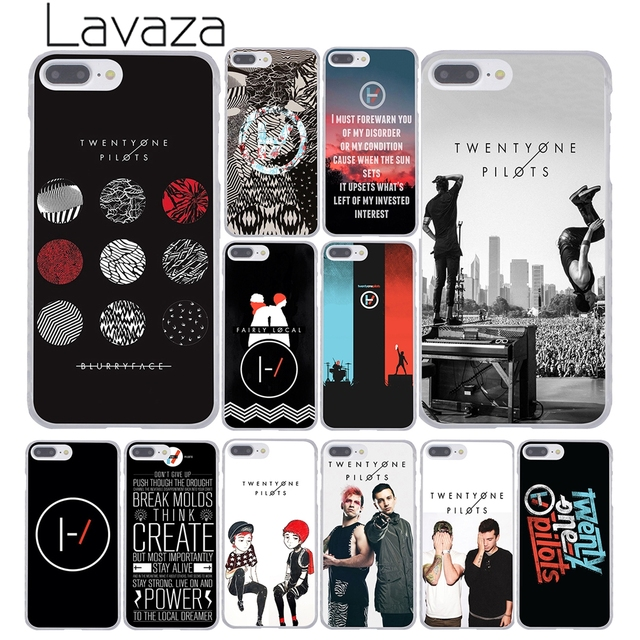 size 40 11082 f6b56 US $1.99 22% OFF Lavaza Twenty One Pilots 21 Pilots Collages Phone Case for  Apple iPhone XR XS Max X 8 7 6 6S Plus 5 5S SE 5C 4S 10 Cover 8Plus-in ...