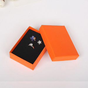 Image 2 - 6.3x8.5x2.5cm Beauty White Jewellery Gift Box Pendant Case Display for Ring Earring Necklace Watch Packaging 32pcs