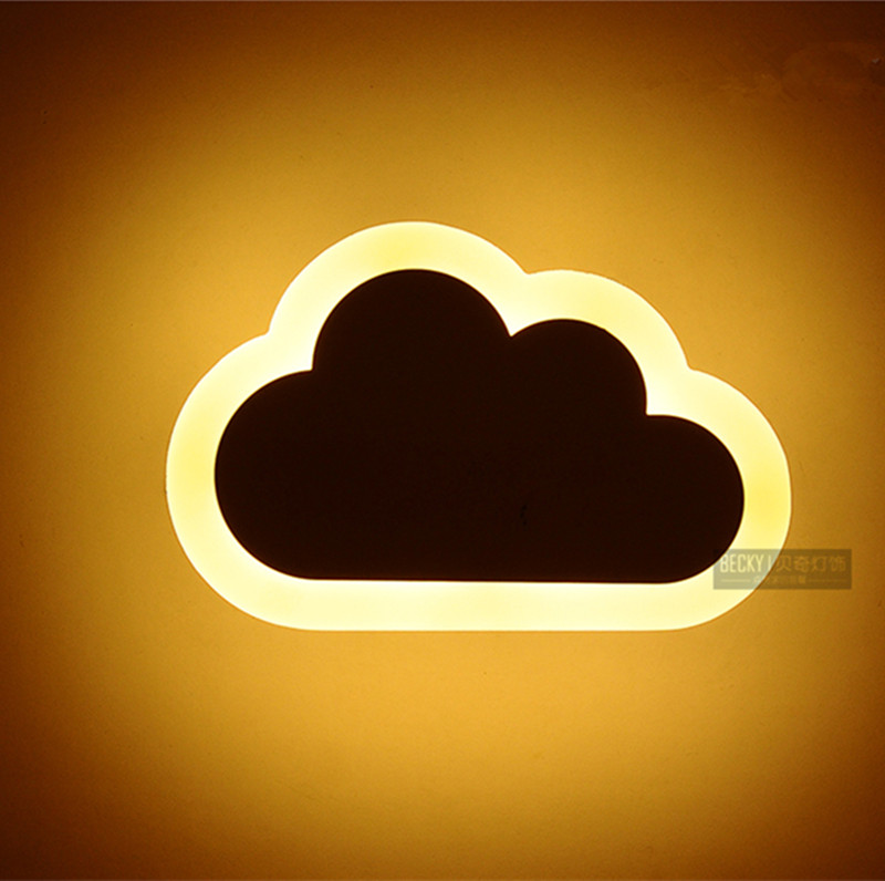 Aliexpress.com : Buy Children Room Cloud Novelty Lighting Wall Light For Kids Room Modern Led ...