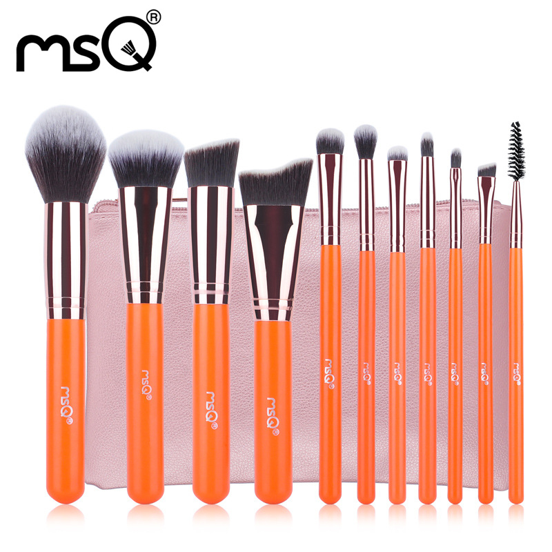 Professional Makeup Brushes Kits Top Fashion Synthetic Hair Eyeshadow Cosmetic Brushes Set 11Pcs Maquiagem Brush Tool For Beauty 7pcs makeup brushes professional fashion mermaid makeup brush synthetic hair eyebrow eyeliner blush cosmetic