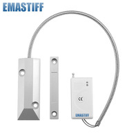 Free Shipping 1pcs Lot Wireless Shutter Roller Door Gap Sensor Detector 433MHz Just For Our Alarm
