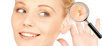 Magnete In-Ear-Behandlung zur Gewichtsreduktion
