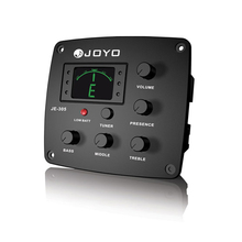 JOYO JE-305 4 Band EQ  Equalizer with Tuner Bass Guitar Middle Treble Presto captador Low Battery light Free Shipping