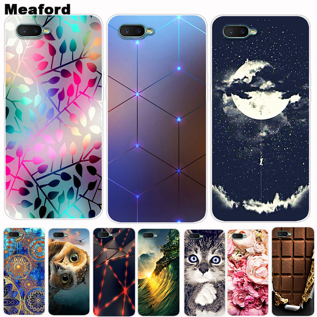 For OPPO RX17 Neo Case Phone Cover Soft Silicone Printing Back Case Coque For OPPO RX17 Neo CPH1893 RX 17 Neo Cover RX17Neo Capa