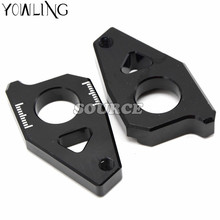 Motorcycle CNC Tensioners Catena  rear axle spindle chain adjuster For YAMAHA FZ8 2012 2013 2014 2015 tmax 530 -2014