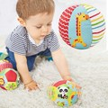 Infant Babies Toys Animal Ball Soft Stuffed Toy Polyester Balls Baby Crawl Rattles Body Building Ball Soft PP Cotton Hobbies