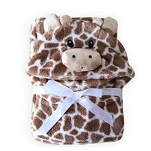 pături pentru copii nou-născut swaddle minunat animal stil cu capișon primirea păturilor plicuri pentru nou-născuți pătură moale pentru copil