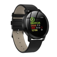 696 CF18 Smart Watch OLED Color Screen Smartwatch Fashion Fitness Tracker Heart Rate Blood Pressure Monitor For Men Women
