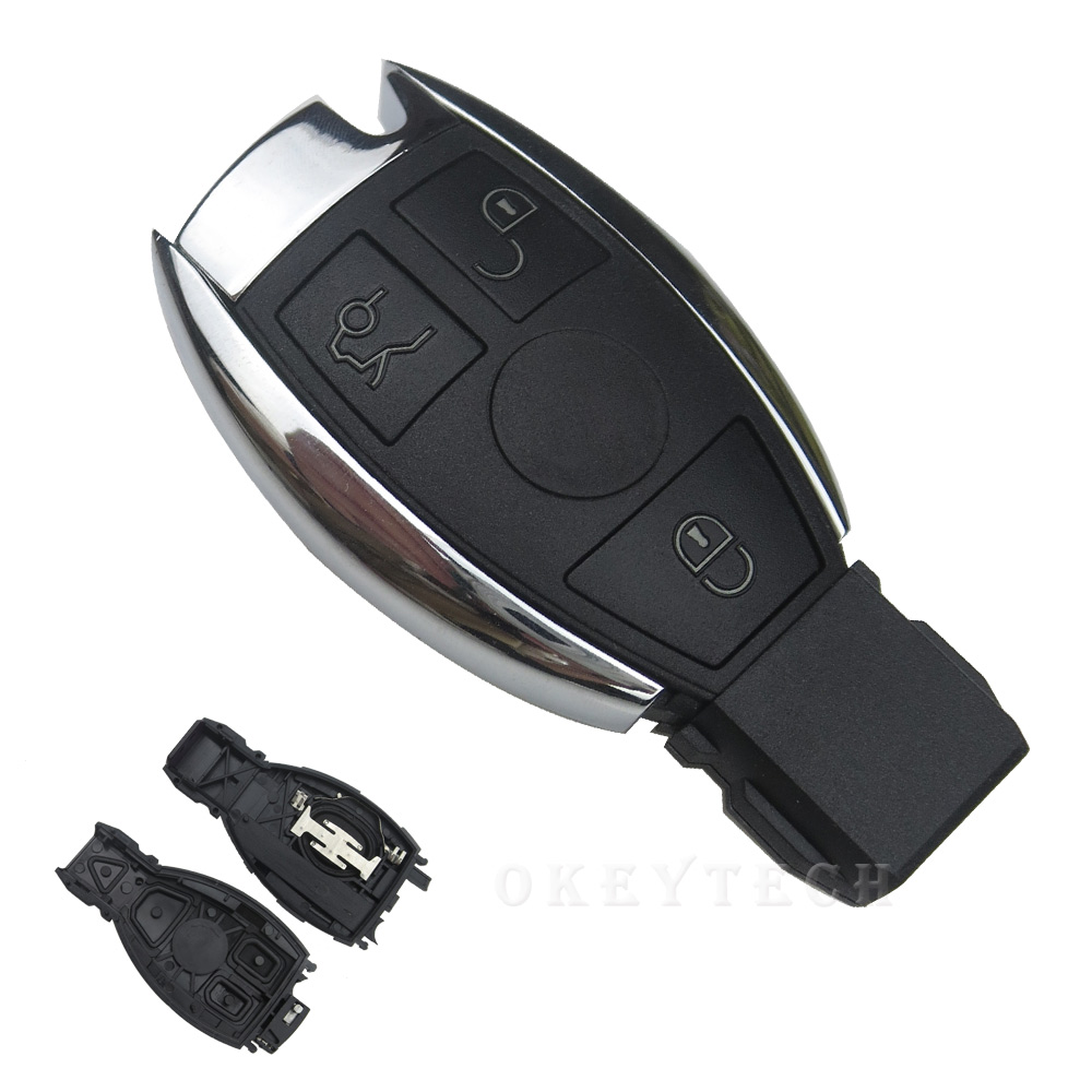 Smart Car Key Replacement >> OkeyTech For Mercedes for Benz C Class SL Smart Card 3 ...