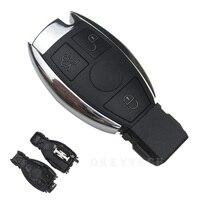 OkeyTech para Mercedes Benz Classe C SL Cartão Inteligente 3 botão de Controle Remoto Chave Auto Substituição Da Tampa do Caso Shell Fob Keyless