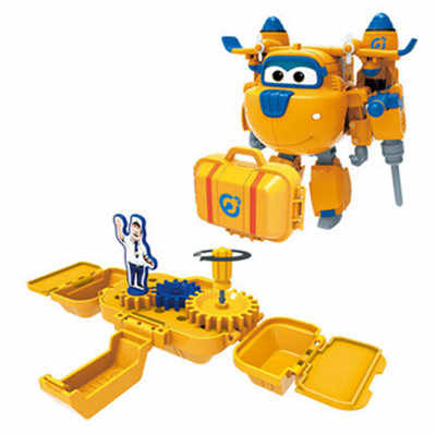 Super Wings tool set toys Donnie Deluxe Deformation robot Tool Toy Deluxe Transformation Rescue and Relief Tool Combination Toys