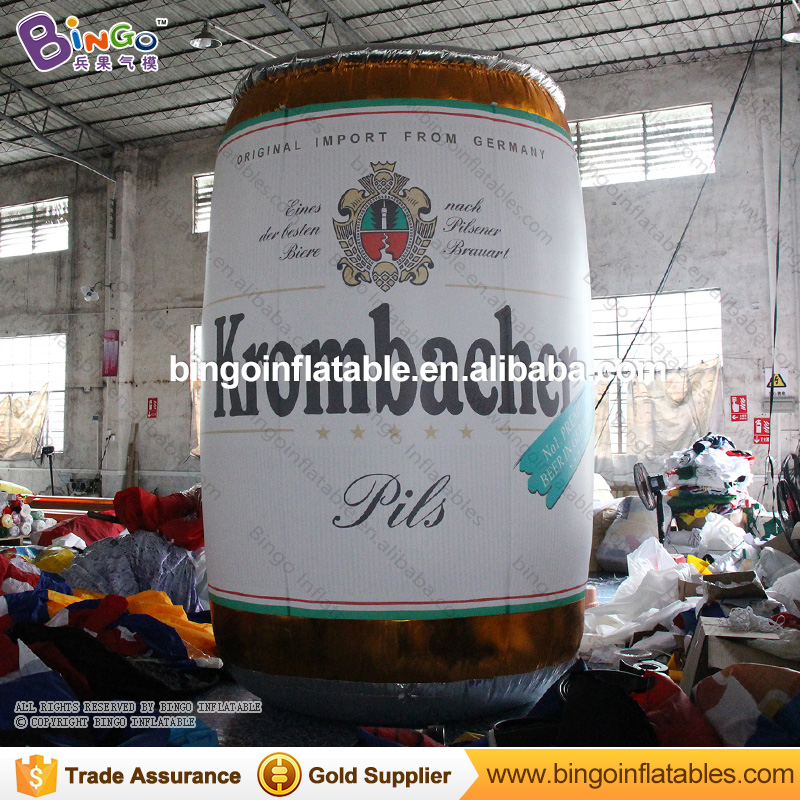 Giant Inflatable Beer Barrel Replica Decoration For Oktoberfest Party BG-A0657-7 Model Building Kits