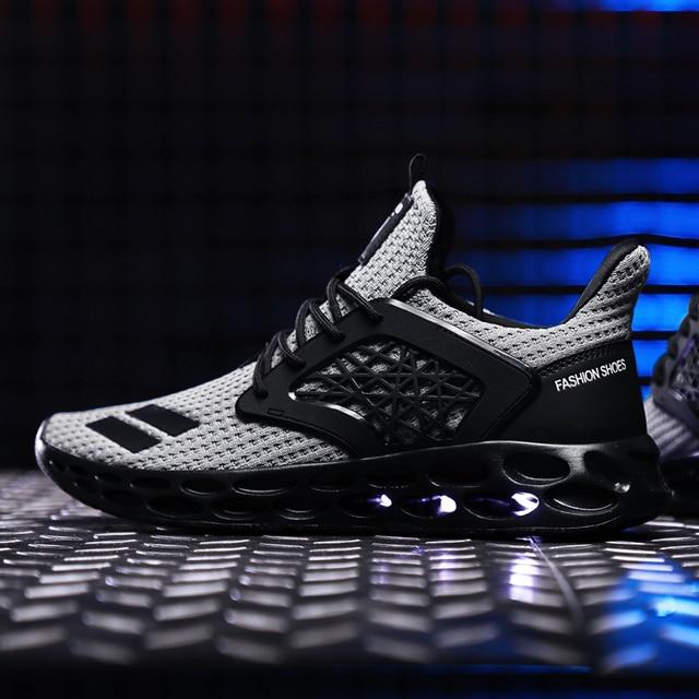 Zapatos de hombre zapatillas de deporte transpirables zapatos casuales Krasovki Mocassin cesta Homme cómodos zapatillas de luz chussures para hombre