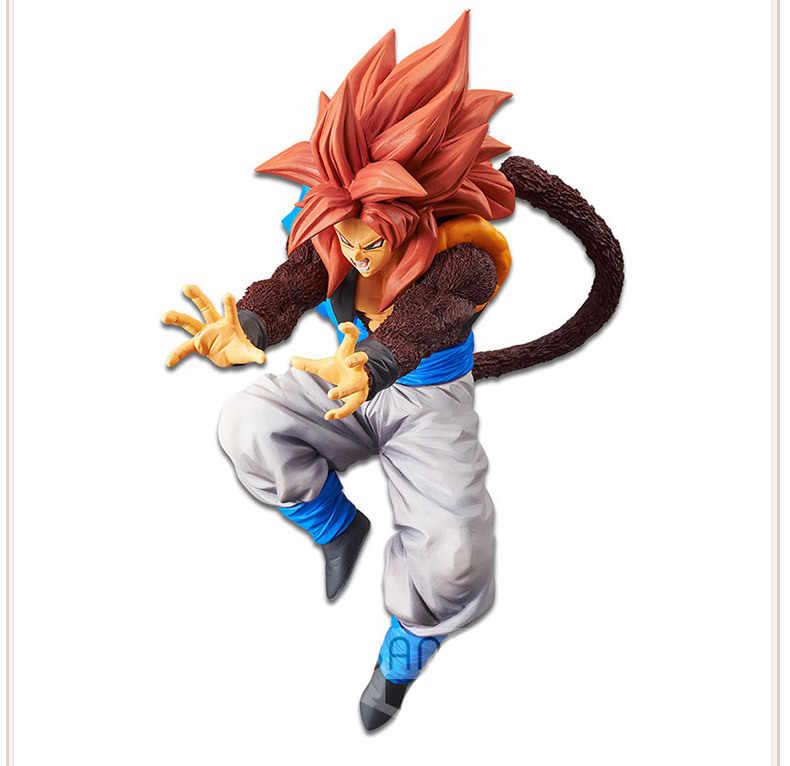 Banpresto Dragon Ball Gt Ultimate Fusion Big Bang Kamehameha Ss4 Gogeta Pvc Figure Collectible Model Toy