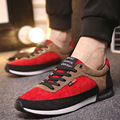 Случайные Холст Обувь Мужчины Красные Парусиновые Туфли мужские Настольные Обувь Мужчин Мода Простой Хлопок производства Обуви