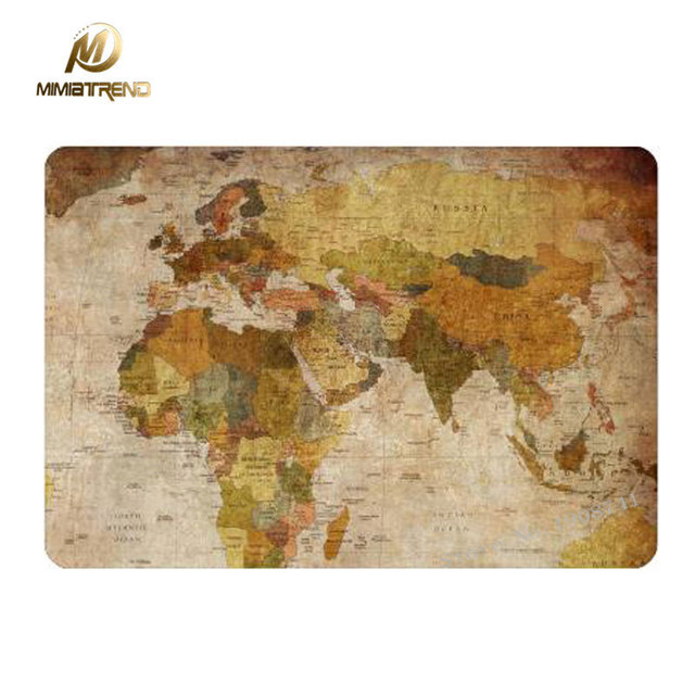 Mimiatrend world map positive decal laptop skin for apple macbook mimiatrend world map positive decal laptop skin for apple macbook air pro retina 11 13 133 gumiabroncs Gallery