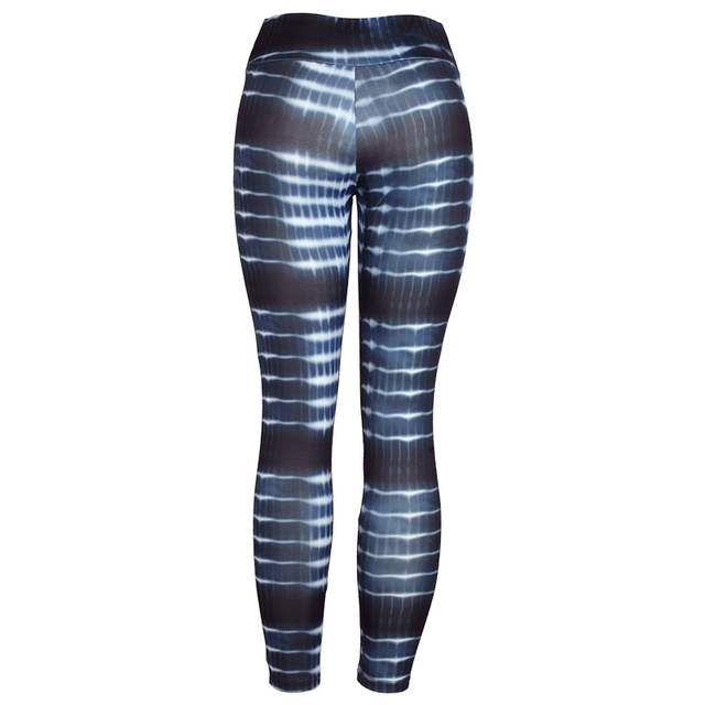SVOKOR Women Leggings High Waist Patchwork Sexy Hollow Out Printed  Summer Breathable Dry Quick Sporting Fitness Leggings 3