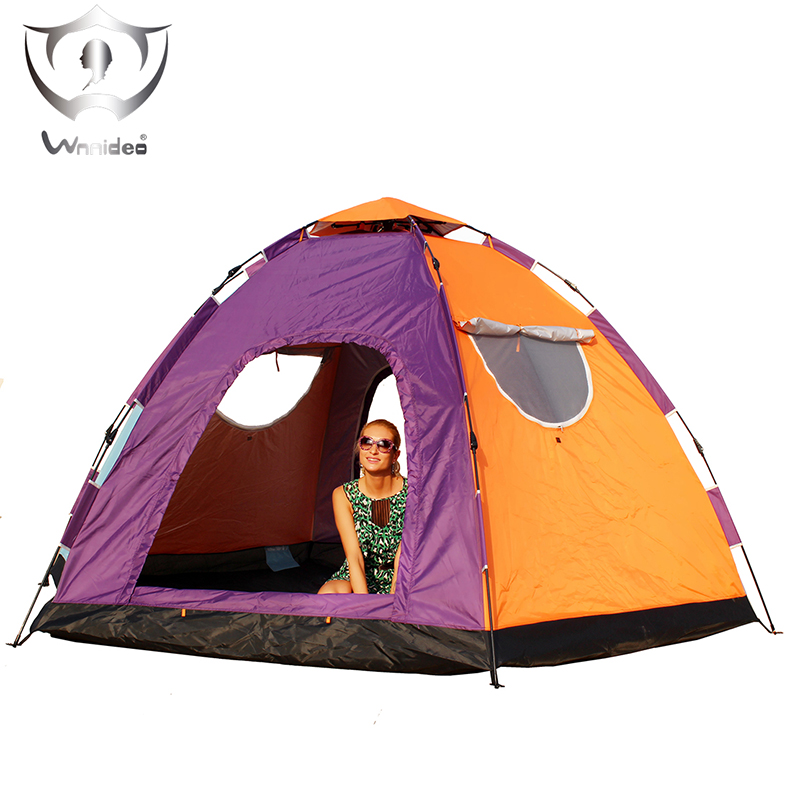 Wnnideo Automatic Instant Pop Up Tent Outdoor 6 8 Person Family Tent Waterproof for C&ing Hiking Travel Beach or in Park -in Tents from Sports ...  sc 1 st  AliExpress.com : 8 person pop up tent - memphite.com