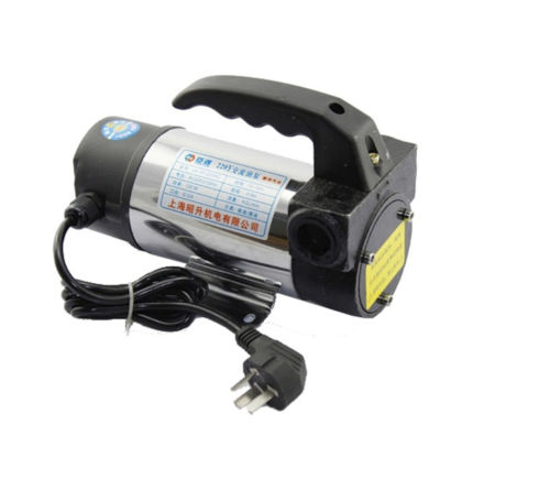 Adaptable Diesel Fuel Transfer Pump Dc220v 15.9gpm Hose, Diesel Fuel Oil Pumping