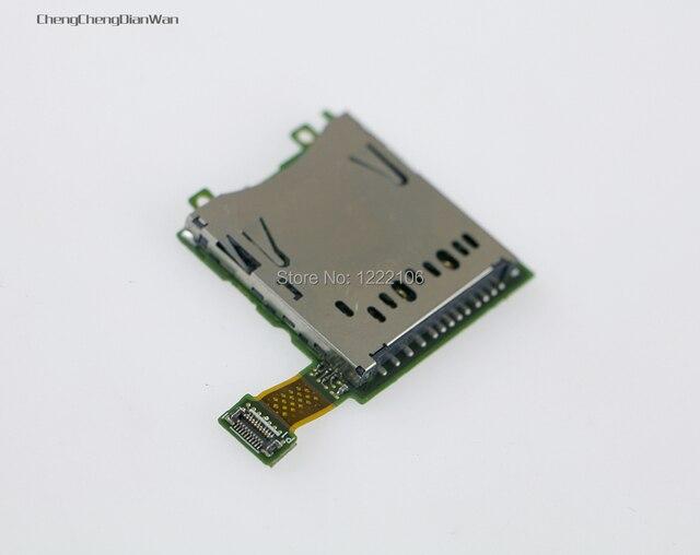 Original Replacement Repair Parts  SD Card Slot socket For 3DS