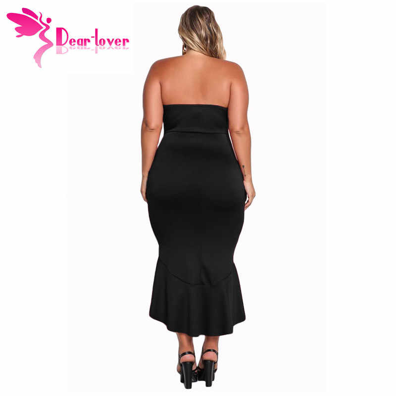 8df22fa212 Top 10 Punto Medio Noticias | Long Black Strapless Dress Plus Size