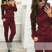 Laipelar Spring Autumn Tracksuits For Women Two Piece Set Sweatshirt Top and Pants New 2018 Female Sporting 2 Suit