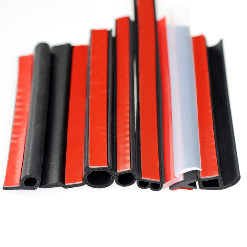 Big D P Z Y Car Styling Auto Rubber Seals Car Door Seal Weatherstripping Sound Insulation Door Seal Windshield Rubber Seal Strip
