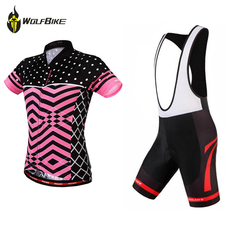 WOSAWE Cycling jersey bib shorts gel padded bicycle clothing MTB Bike Ropa Ciclismo pro team Cycling Clothing sets santic pro cycling jerseys kits sets cycle cycling clothing mtb road bike shirt tops pro padded bicycle shorts ropa ciclismo men
