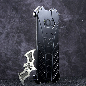 Image 2 - Batman Aluminum Metal Shockproof Cover Case for Samsung Galaxy S20 Plus S8 S9 S10 5G S10E Note 10 Plus note 20 ulrta case