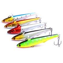 YUZI 14.5g 9cm Pencil Wobbler Lures Winter Fishing Hard Baits 5pcs/lot 5 Colors Available Crankbaits