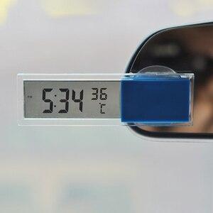 2 in 1 Auto Car Digital LCD El